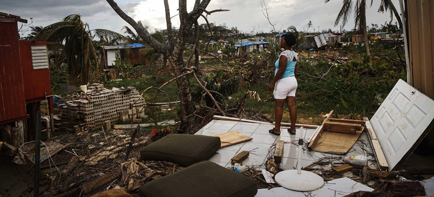 Hurricane Maria Hit Women in Puerto Rico the Hardest. And They're the Ones Building It Back.