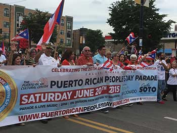 37th Puerto Rican Peoples Parade: Celebrating the 20th Anniversary of the Steel Flags, the Baseball Leagues and Cocineros Unidos de Humboldt Park