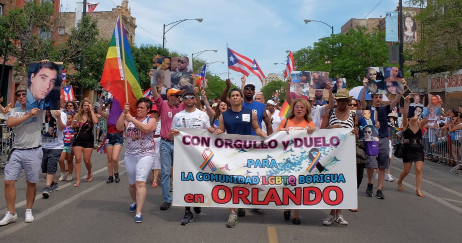 Orlando victims honored at  Puerto Rican People's Parade