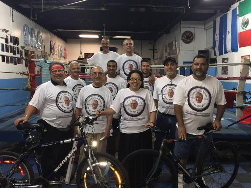 Bronx Bike Ride for Oscar López Rivera